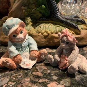 Cute Licensed Kitten Statues